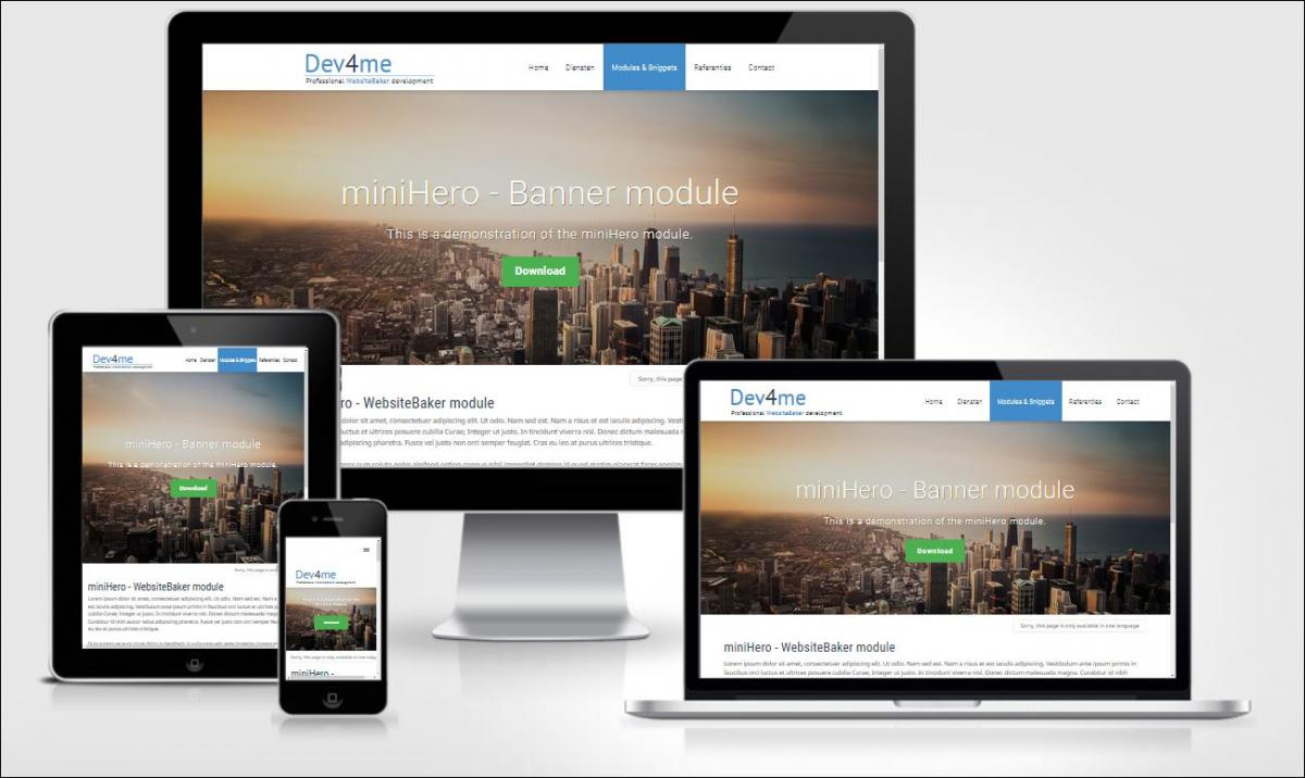 Website baker cms 2. 7.